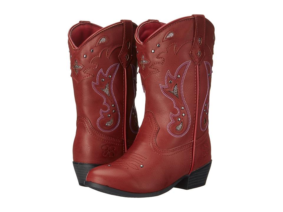Jessica Simpson Kids - Starlet (Little Kid/Big Kid) (Red) Girl's Shoes