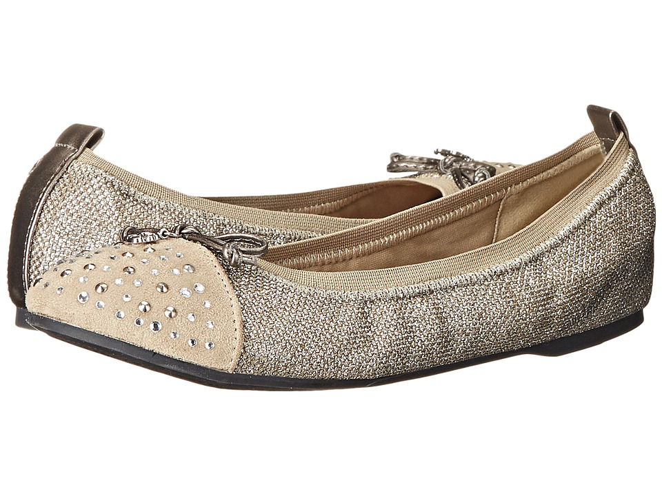 Jessica Simpson Kids - Lyric (Little Kid/Big Kid) (Gold Lurex) Girl's Shoes