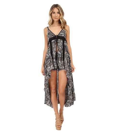 Gabriella Rocha - Ann Lace Accent Cover Up (Black) Women's Dress