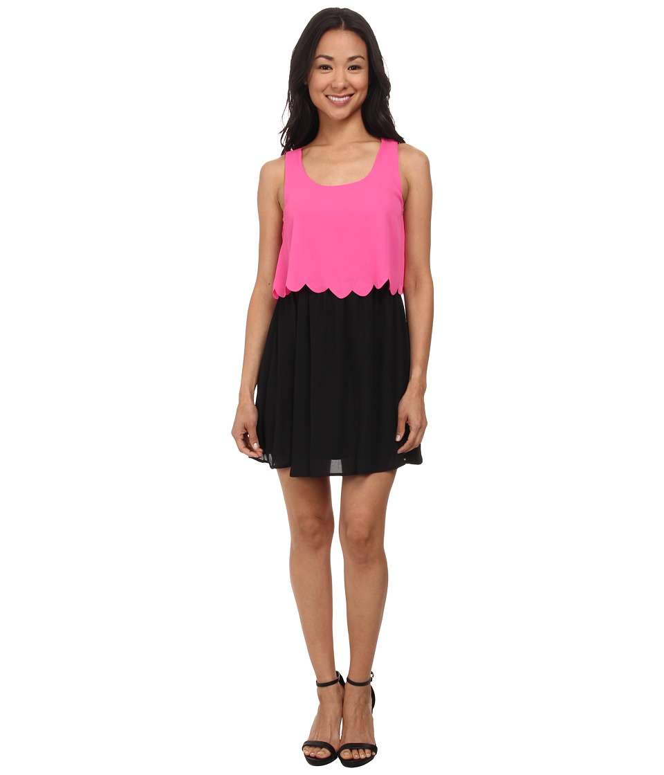 Gabriella Rocha - Layered Dress (Fuchsia) Women's Dress