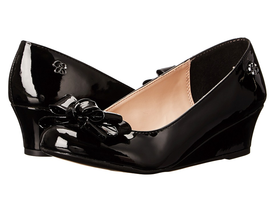 Jessica Simpson Kids - Glee (Little Kid/Big Kid) (Black Patent) Girls Shoes