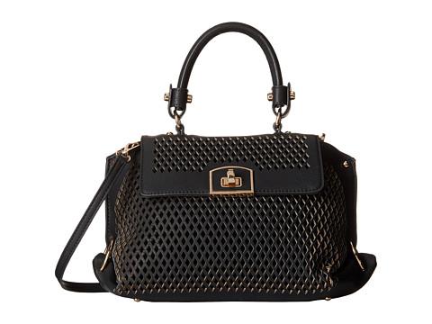 Gabriella Rocha - Lenore Perforated Purse (Black) Handbags