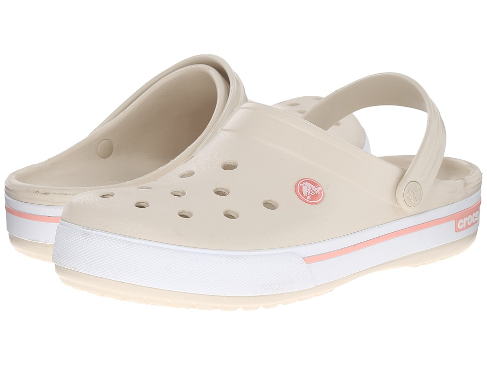 Crocs - Crocband II.5 Clog (Stucco/Melon) Clog Shoes
