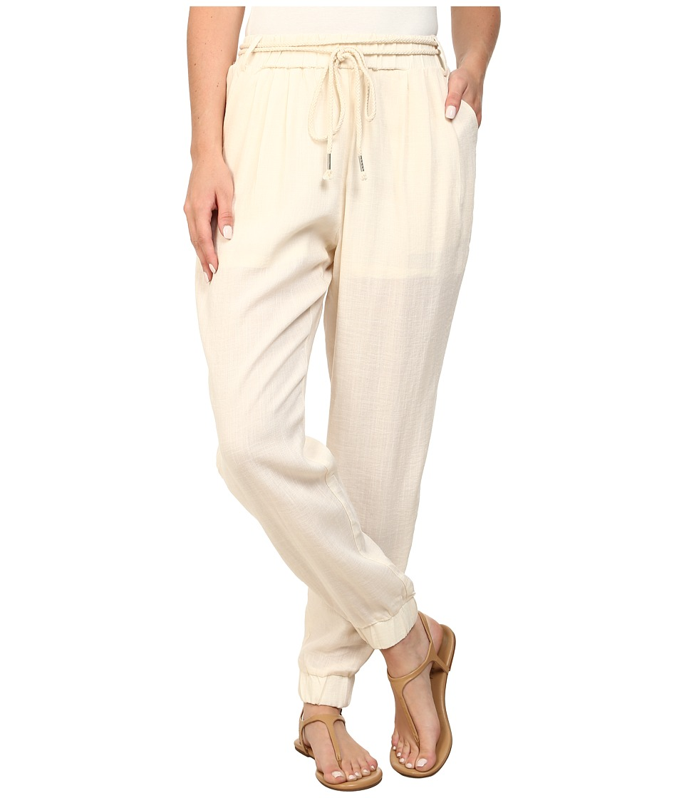 Gabriella Rocha - Brinley Linen Pants (Cream) Women's Casual Pants