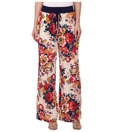 Gabriella Rocha - Elora Floral Print Pants (Ivory) Women's Casual Pants