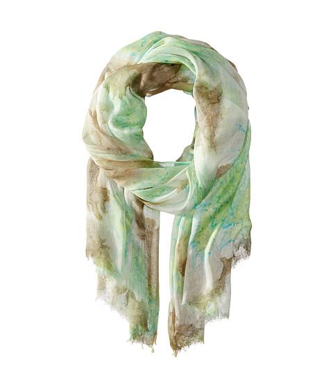 Gabriella Rocha - Kathy Tie-Dye Scarf (Green) Scarves