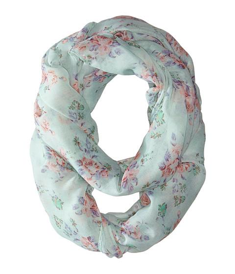 Gabriella Rocha - Kierra Floral Print Scarf (Mint) Scarves