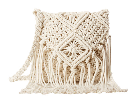 Gabriella Rocha - Crochet Crossbody (Ivory) Cross Body Handbags