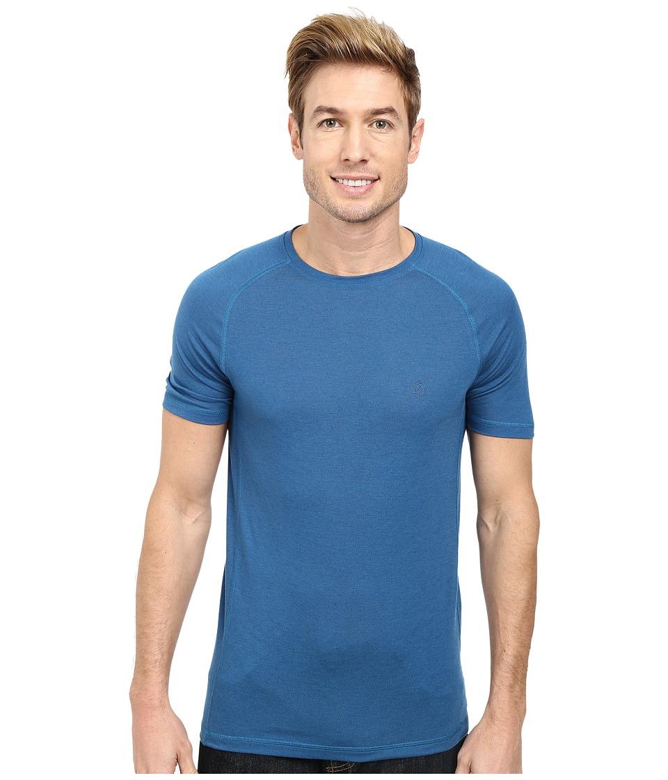 Fj llr ven - Abisko Trail T-Shirt (Lake Blue) Men's T Shirt