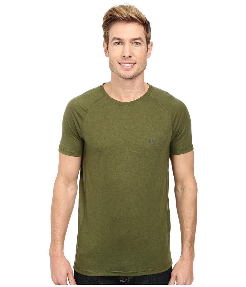 Fj llr ven - Abisko Trail T-Shirt (Pine Green) Men's T Shirt