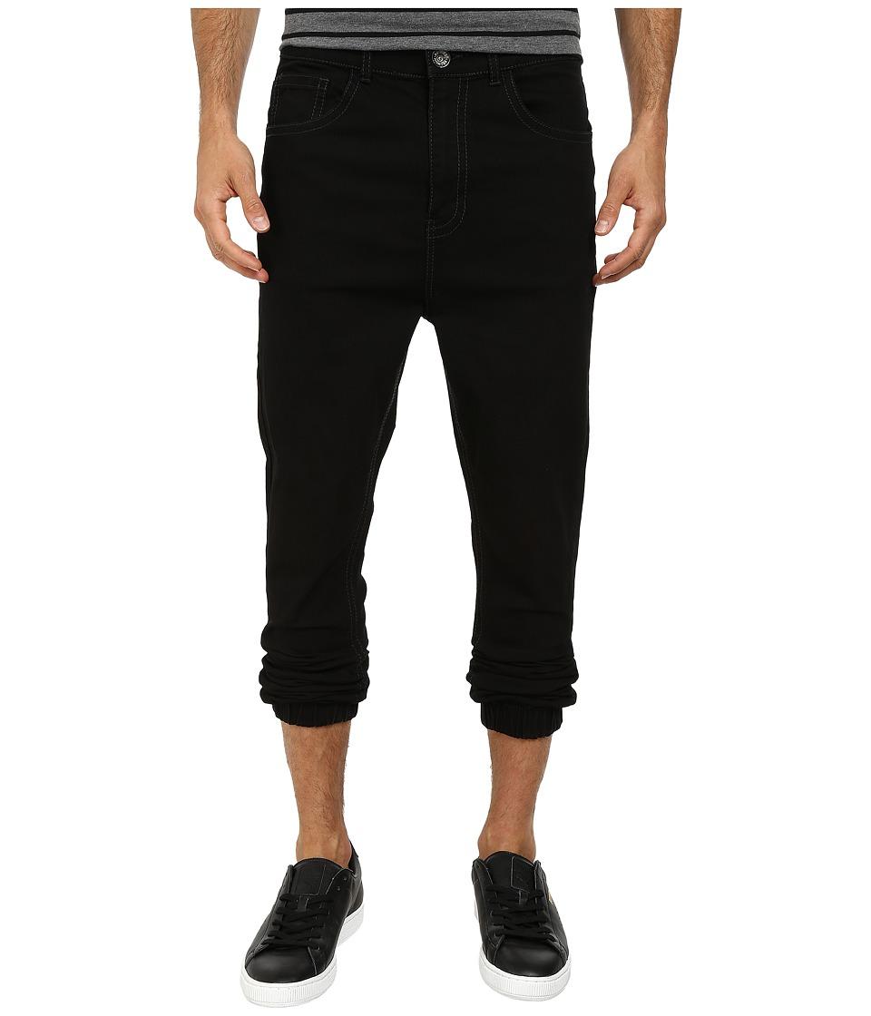 Request - Mathew Denim Jogger in Black Rinse (Black Rinse) Men's Jeans