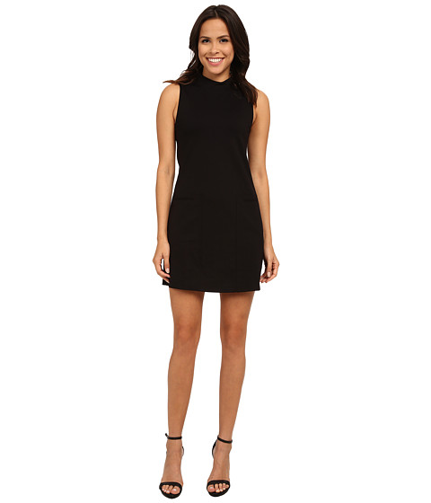 Sanctuary - Mod Little Black Dress (Black) Women's Dress