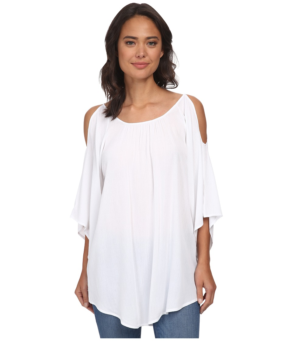 Gabriella Rocha - Elly Open Shoulder Top (White) Women's Blouse
