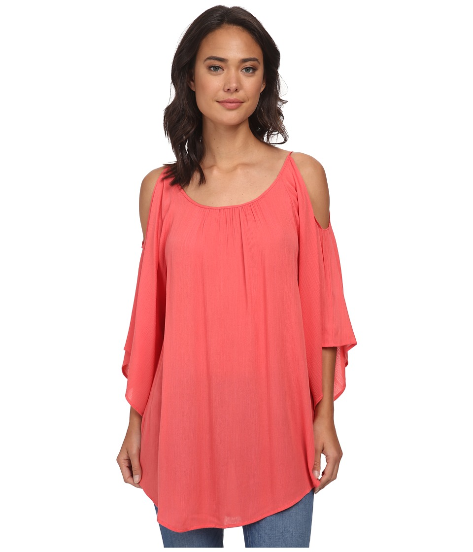 Gabriella Rocha - Elly Open Shoulder Top (Watermelon) Women's Blouse