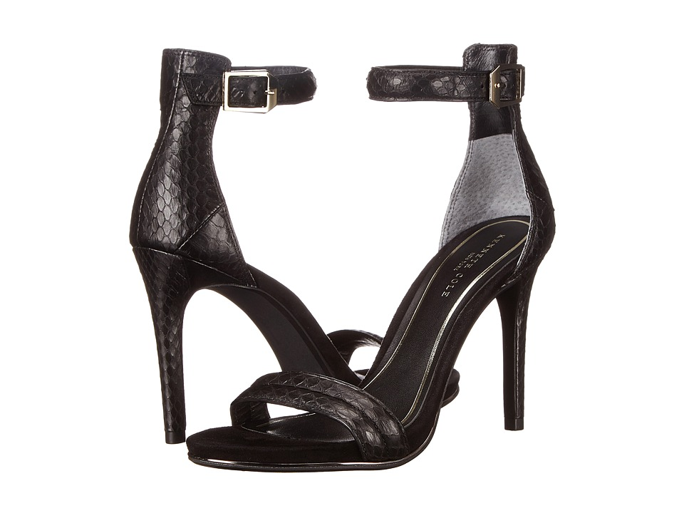 Kenneth Cole New York - Brooke (Black Snake) High Heels