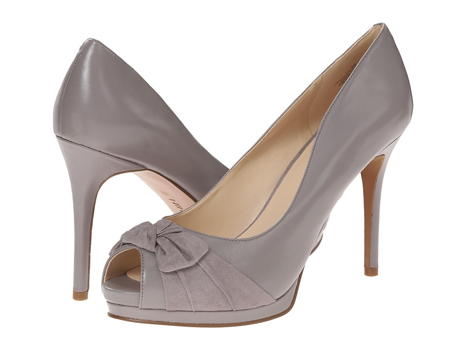 Nine West - Fealey (Grey/Grey Leather) High Heels