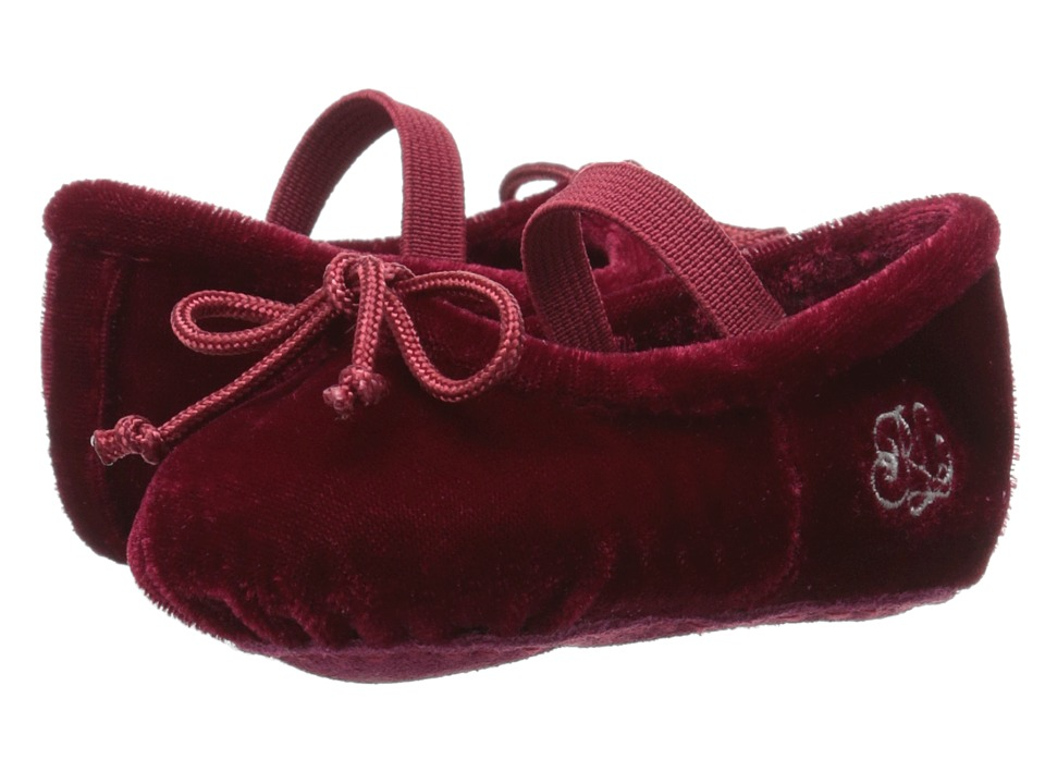 Polo Ralph Lauren Kids - Ballet Mary Jane (Infant/Toddler) (Ruby) Girls Shoes