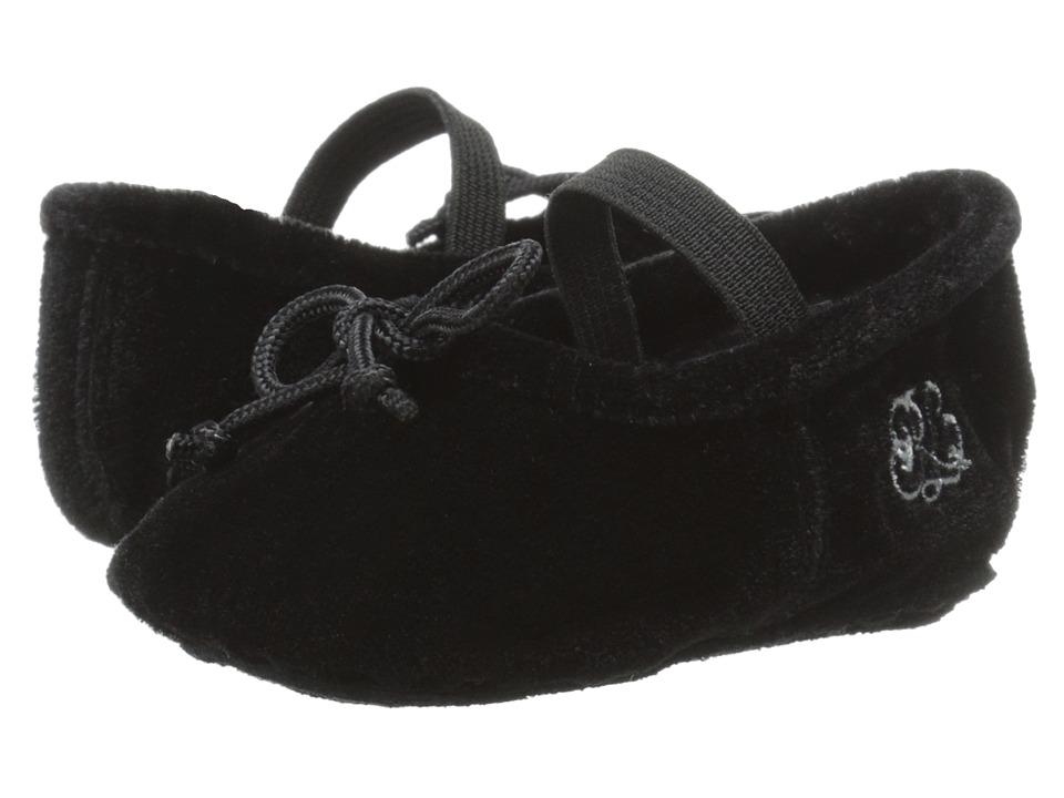 Polo Ralph Lauren Kids - Ballet Mary Jane (Infant/Toddler) (Black) Girls Shoes