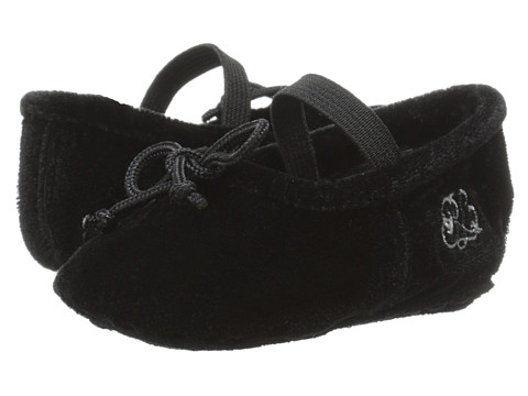 Ralph Lauren Layette Kids - Ballet Mary Jane (Infant/Toddler) (Black) Girls Shoes