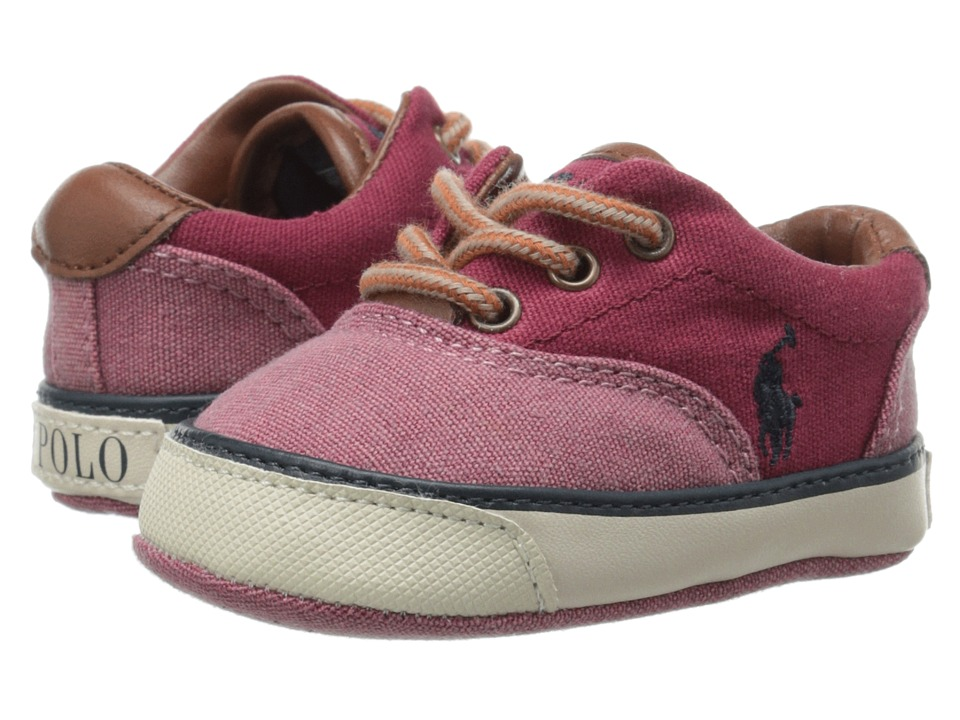 Polo Ralph Lauren Kids - Vaughn II (Infant/Toddler) (Red) Boys Shoes