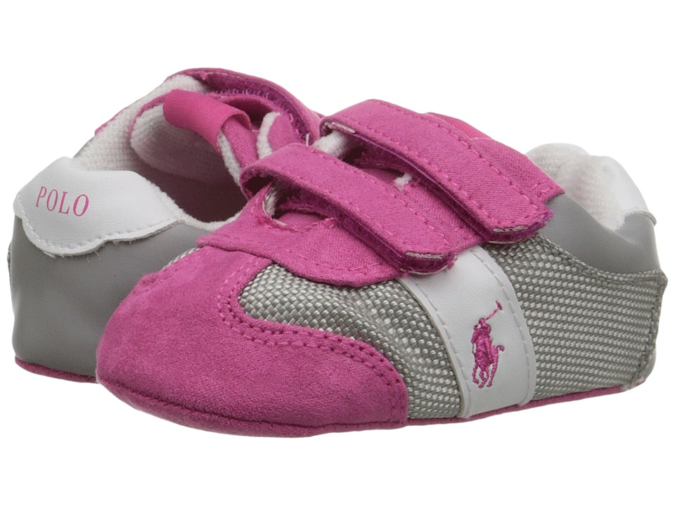 Polo Ralph Lauren Kids - Duma EZ (Infant/Toddler) (Pink) Girls Shoes