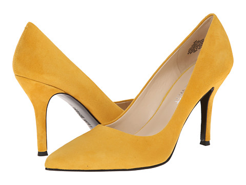 Nine West - Flax (Yellow Suede) High Heels