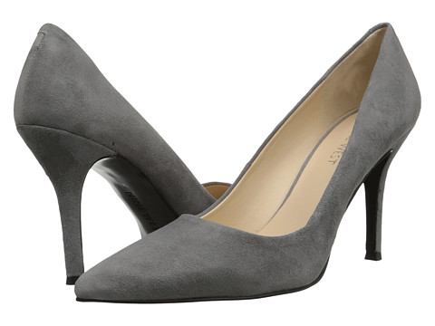 Nine West - Flax (Medium Grey Suede) High Heels