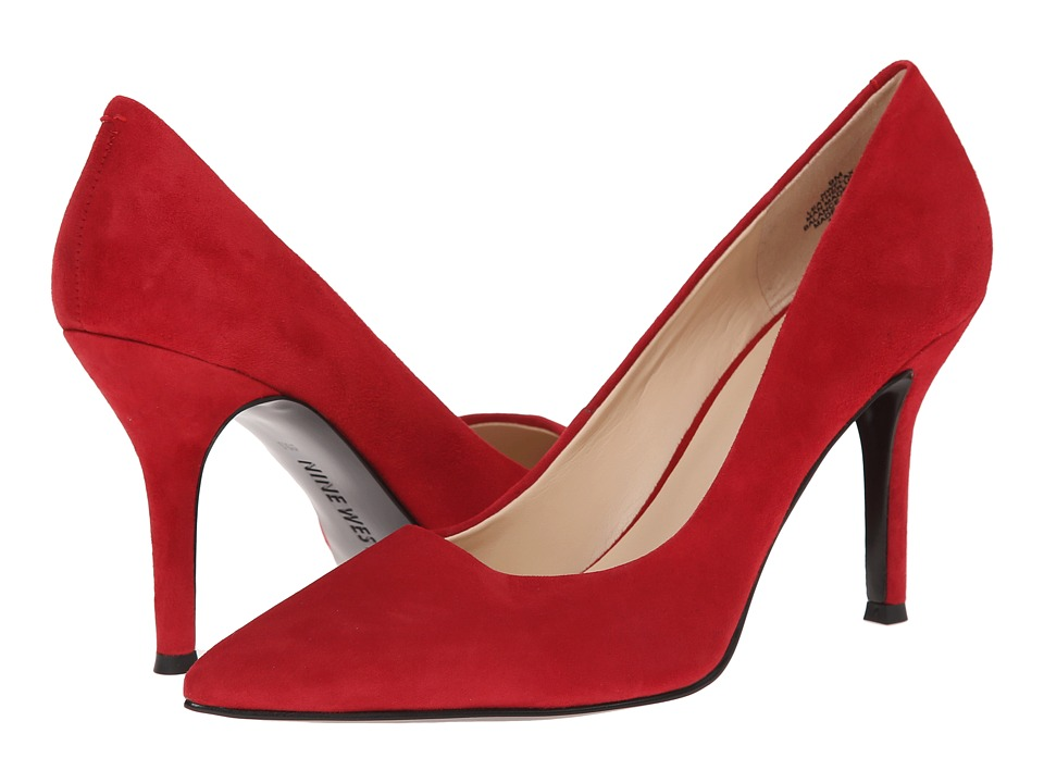 Nine West - Flax (Red Suede 3) High Heels