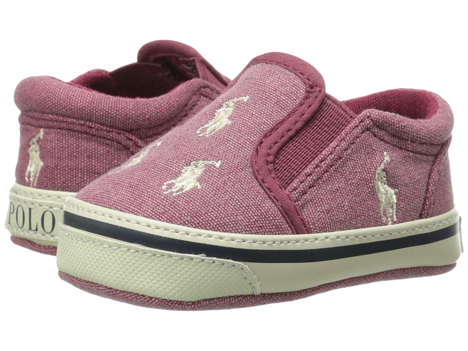 Polo Ralph Lauren Kids - Bal Harbour Repeat (Infant/Toddler) (Red) Kids Shoes
