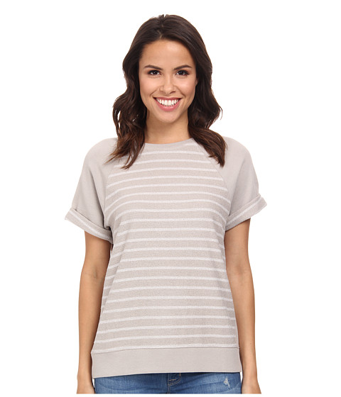AG Adriano Goldschmied - Arie Short Sleeve Raglan (Ground) Women