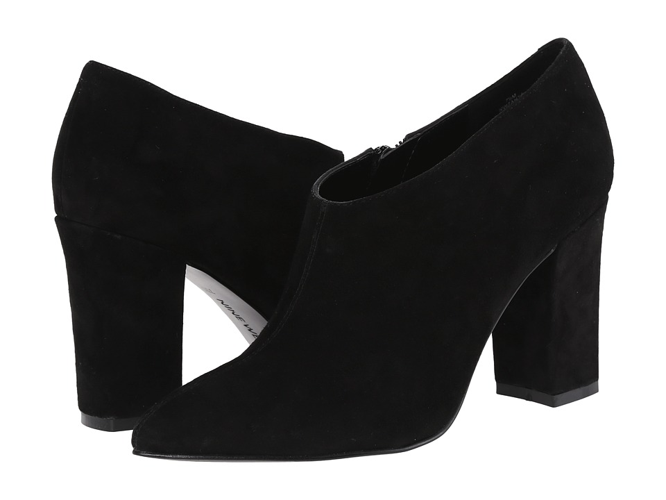 Nine West - Zanta (Black Suede) High Heels