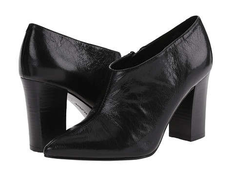 Nine West - Zanta (Black Leather) High Heels