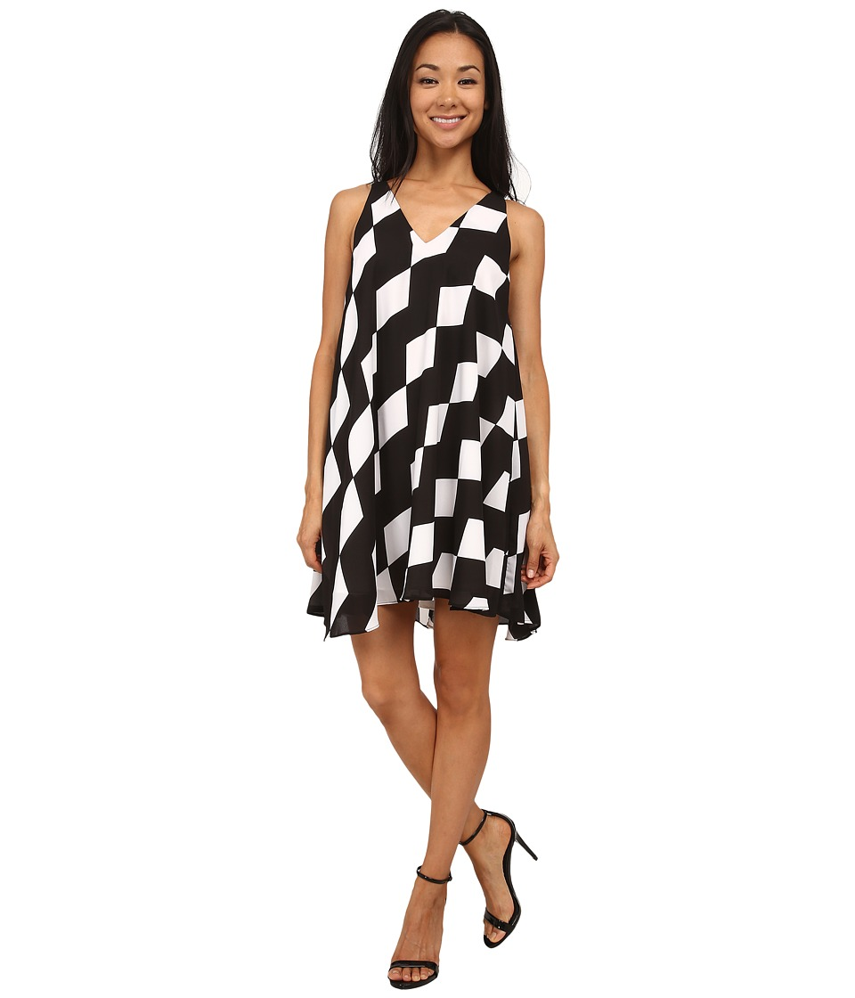 Sam Edelman Full Double V Shift Dress