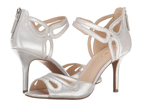Nine West - Grandslam (Silver Metallic) High Heels