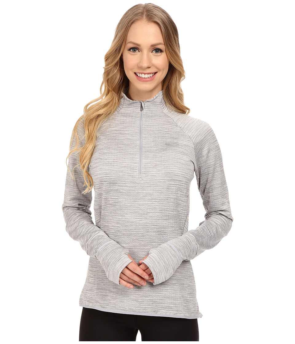 Nike - Element Sphere 1/2 Zip (Wolf Grey Heather/Reflective) Women's Clothing