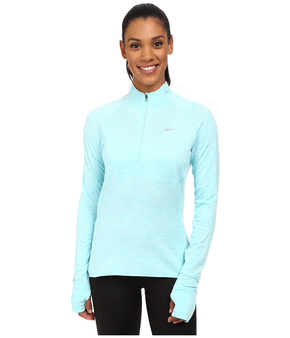 Nike - Element Sphere 1/2 Zip (Copa Heather/Reflective Silver) Women's Clothing