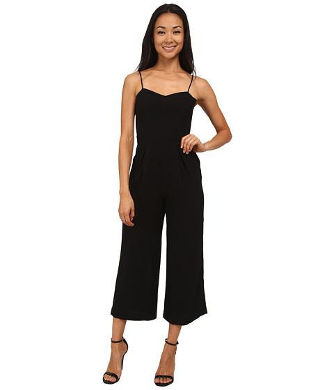 Sam Edelman - Solid Sweetheart Wide Leg Jumpsuit (Black) Women