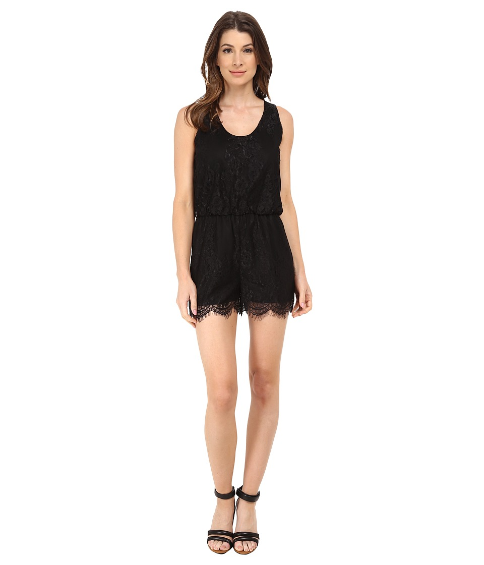 Sam Edelman - Lace Romper (Black) Women's Jumpsuit & Rompers One Piece