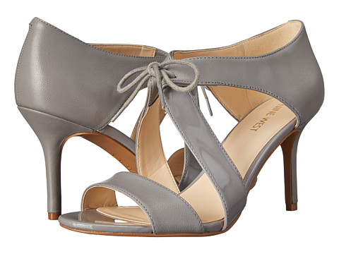 Nine West - Gust (Grey/Grey Leather) High Heels