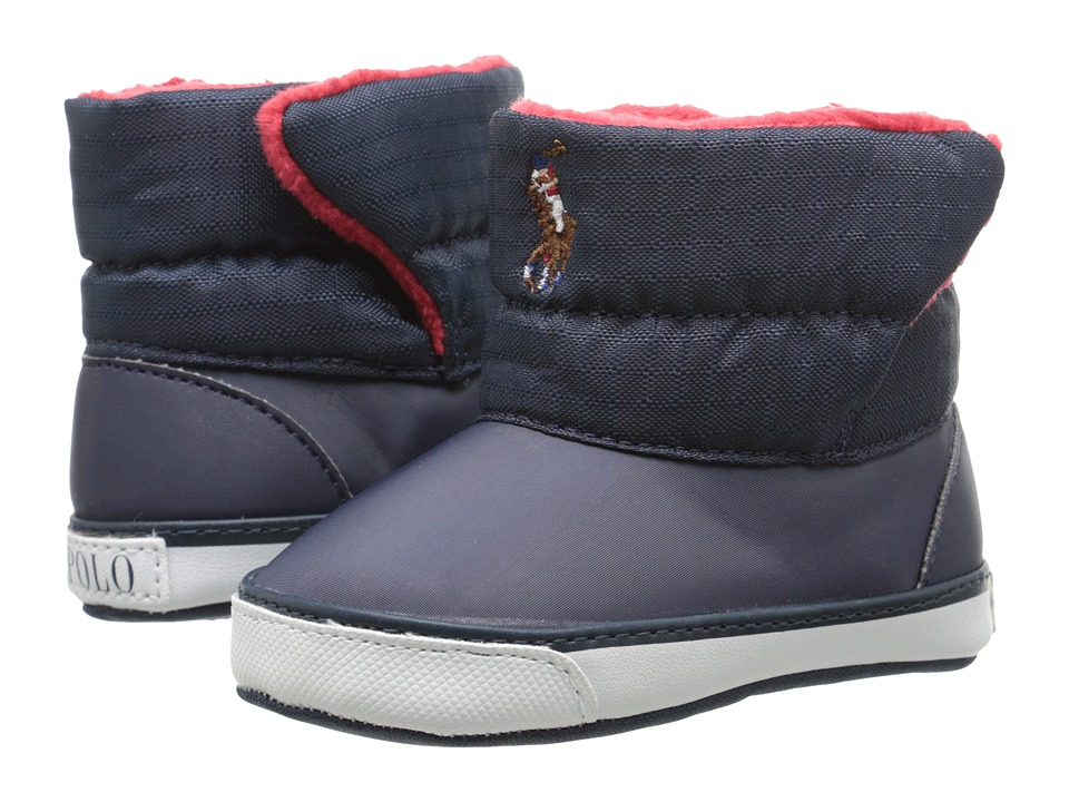Polo Ralph Lauren Kids - Damien (Infant/Toddler) (Navy) Boys Shoes