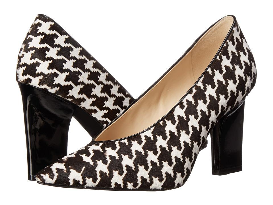 Nine West - Udala (Black White/Black Pony) High Heels