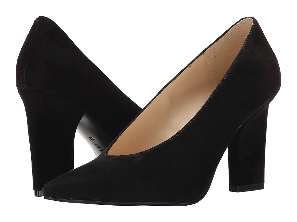 Nine West - Udala (Black Suede) High Heels