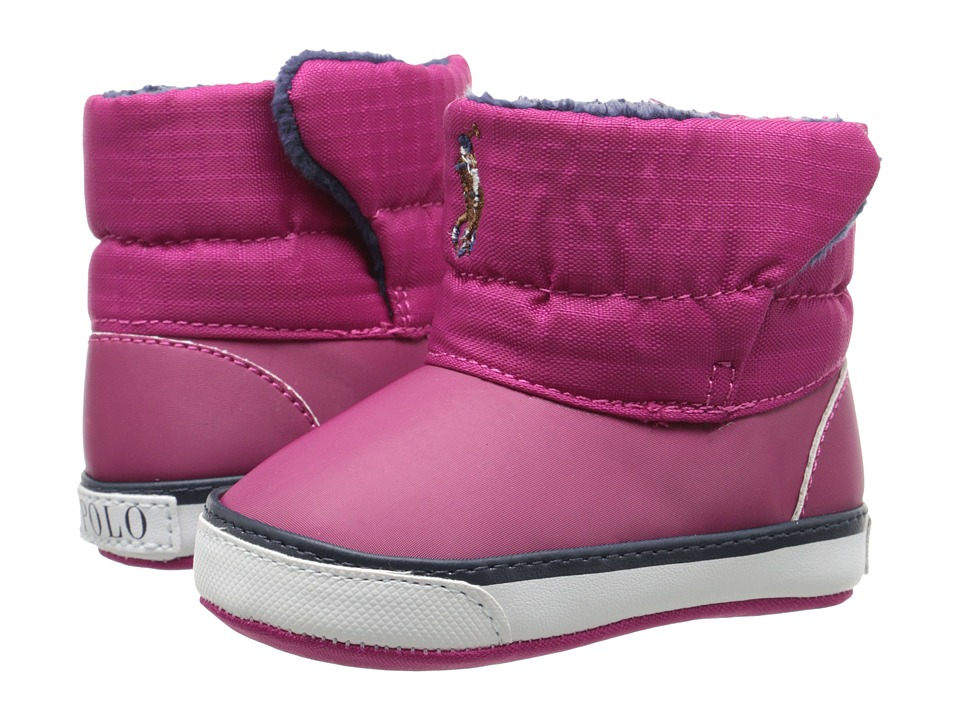 Polo Ralph Lauren Kids - Damien (Infant/Toddler) (Pink) Girls Shoes