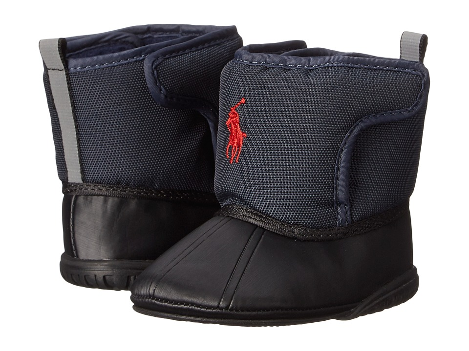 Polo Ralph Lauren Kids - Hamilten EZ (Infant/Toddler) (Navy) Boys Shoes