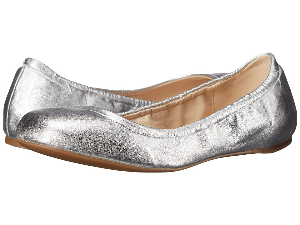 Nine West - Goalie (Silver Synthetic) Women's Slip on Shoes