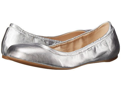 Nine West - Goalie (Silver Synthetic) Women's Slip on Shoes