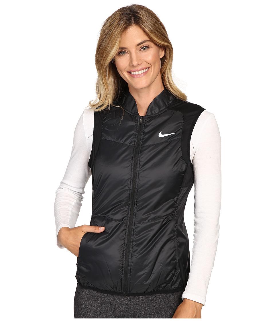 Nike - Polyfill Vest (Black/Reflective Silver) Women's Vest