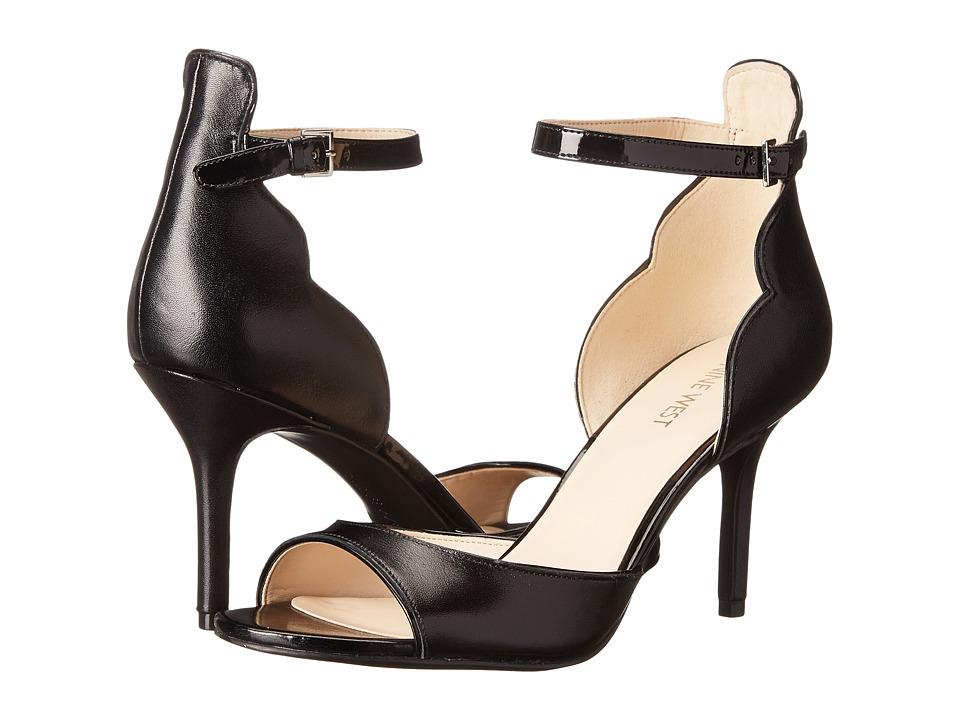 Nine West - Gynwth (Black/Black Leather) High Heels