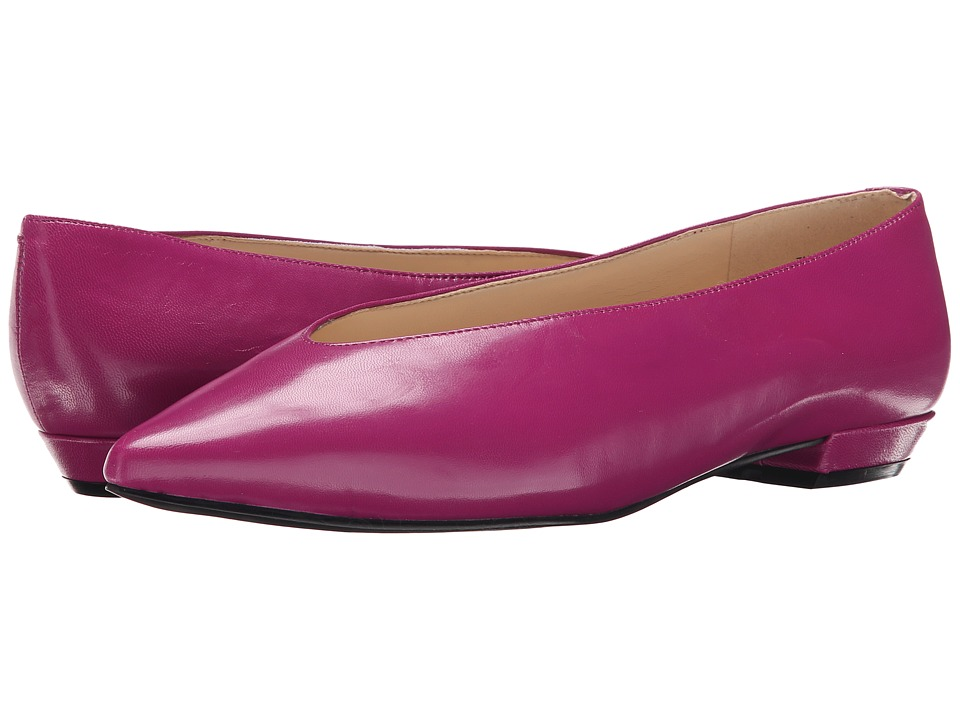 Nine West - Trophywife (Medium Purple Leather) Women's Flat Shoes