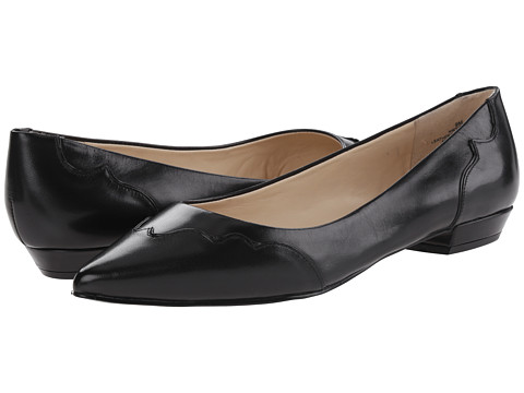 Nine West - Tie-Dye (Black/Black Leather) Women's Flat Shoes